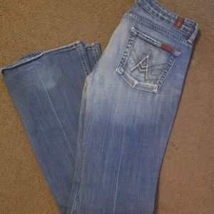 7 for all mankind Jean's sz 29